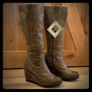 Frye boots - The Paige Wedge